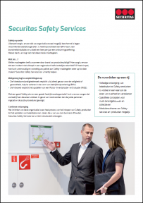 Beeld Brochure Securitas Safety Services