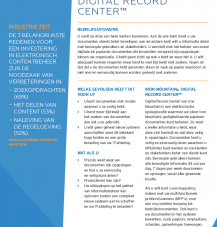 Beeld Productsheet: Solution Brief - Digital Record Center